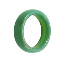 حلقه سنگی عقیق سبز