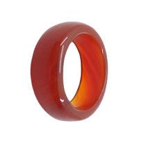 حلقه سنگی عقیق سرخ