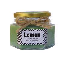 شمع خوشبو کننده محیط با رایحه لیمو