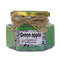 شمع خوشبو کننده محیط با رایحه سیب سبز