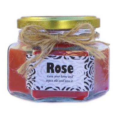 شمع خوشبو کننده محیط با رایحه گل رز