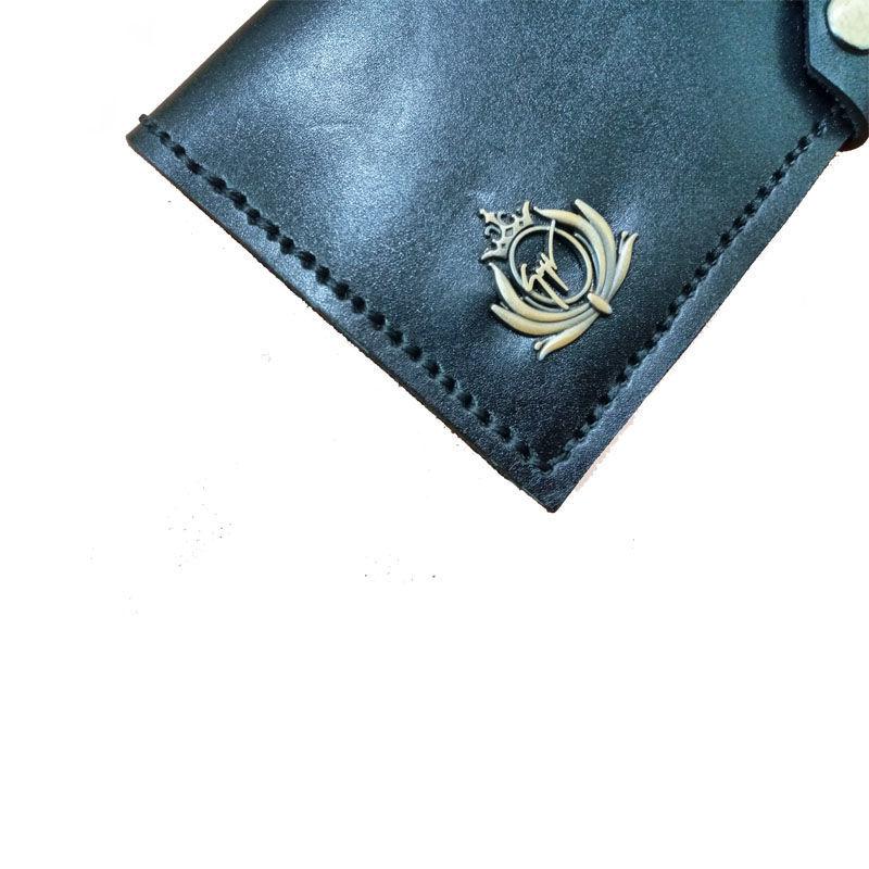 تصویر از کیف پول دو لت زنانه مدلp010گروه چرم کاراکوک
