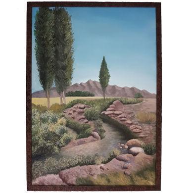 تصویر از تابلو نقاشی رنگ روغن