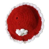 تصویر از کلاه بافتنی دخترونه بچه گانه گروه بهار بانو