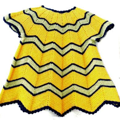 تصویر از لباس کودک بافتنی