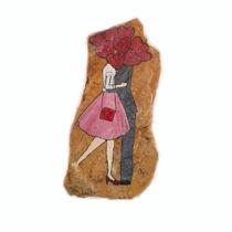 تصویر از نقاشی عاشقانه روی سنگ گالری رنگو