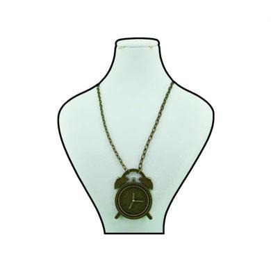 تصویر از گردنبند ساعت برنزی کد A-21