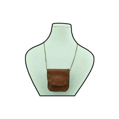 تصویر از کیف گردنی چرم کد C-02