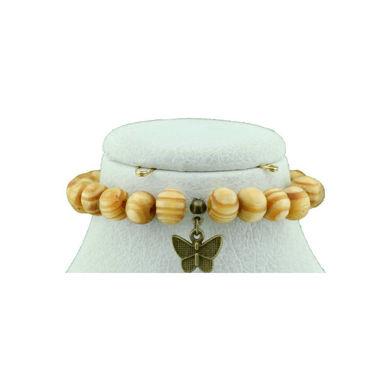 تصویر از دستبند چوبی E015