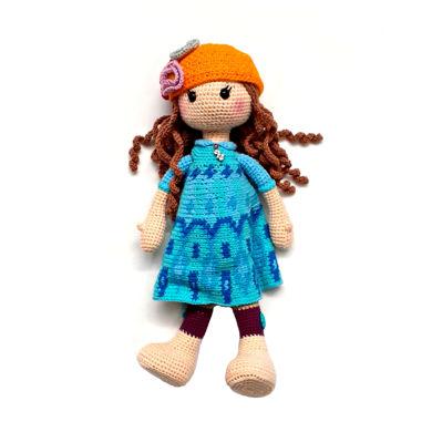تصویر از عروسک بافتنی