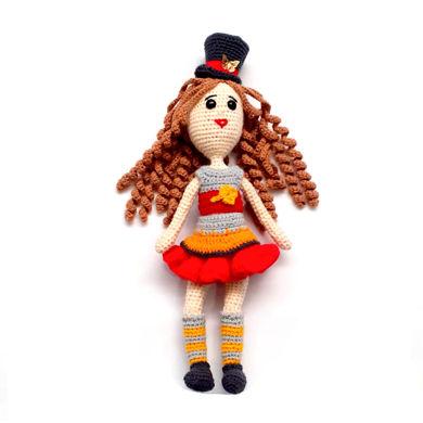 تصویر از عروسک دختر بافتنی