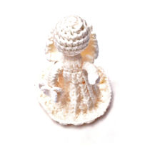 تصویر از عروسک فرشته ی بافتنی