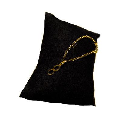 تصویر از بندساعت استیل بی نهایت طلایی، مدل L1، گروه دست سازه های طلایی
