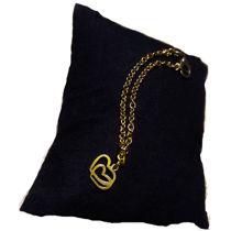 تصویر از بندساعت استیل قلب طلایی، مدل L3، گروه دست سازه های طلایی