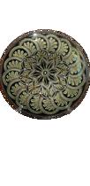 تصویر از بشقاب نقطه کوبی شده کد 1003