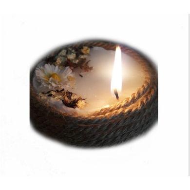 تصویر از شمع دیرسوز