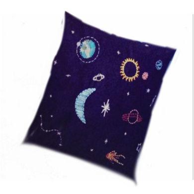 تصویر از کوسن پارچه ایی کهکشانی