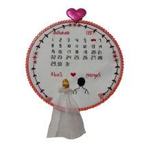 دیوارکوب گلدوزی شده سالگرد ازدواج