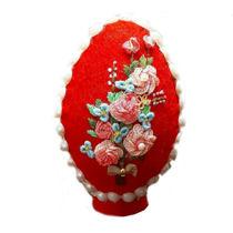 تصویر از تخم مرغ تزیینی گلدوزی شده