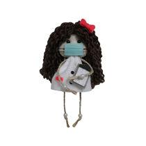 عروسک پرستار نمدی