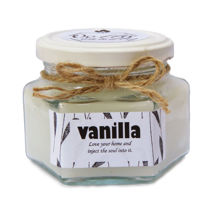 شمع خوشبوکننده محیط با رایحه وانیل