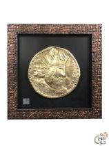 تصویر از قاب سکه ساسانی