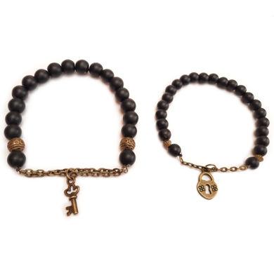 تصویر از دستبند ست قفل و کلید