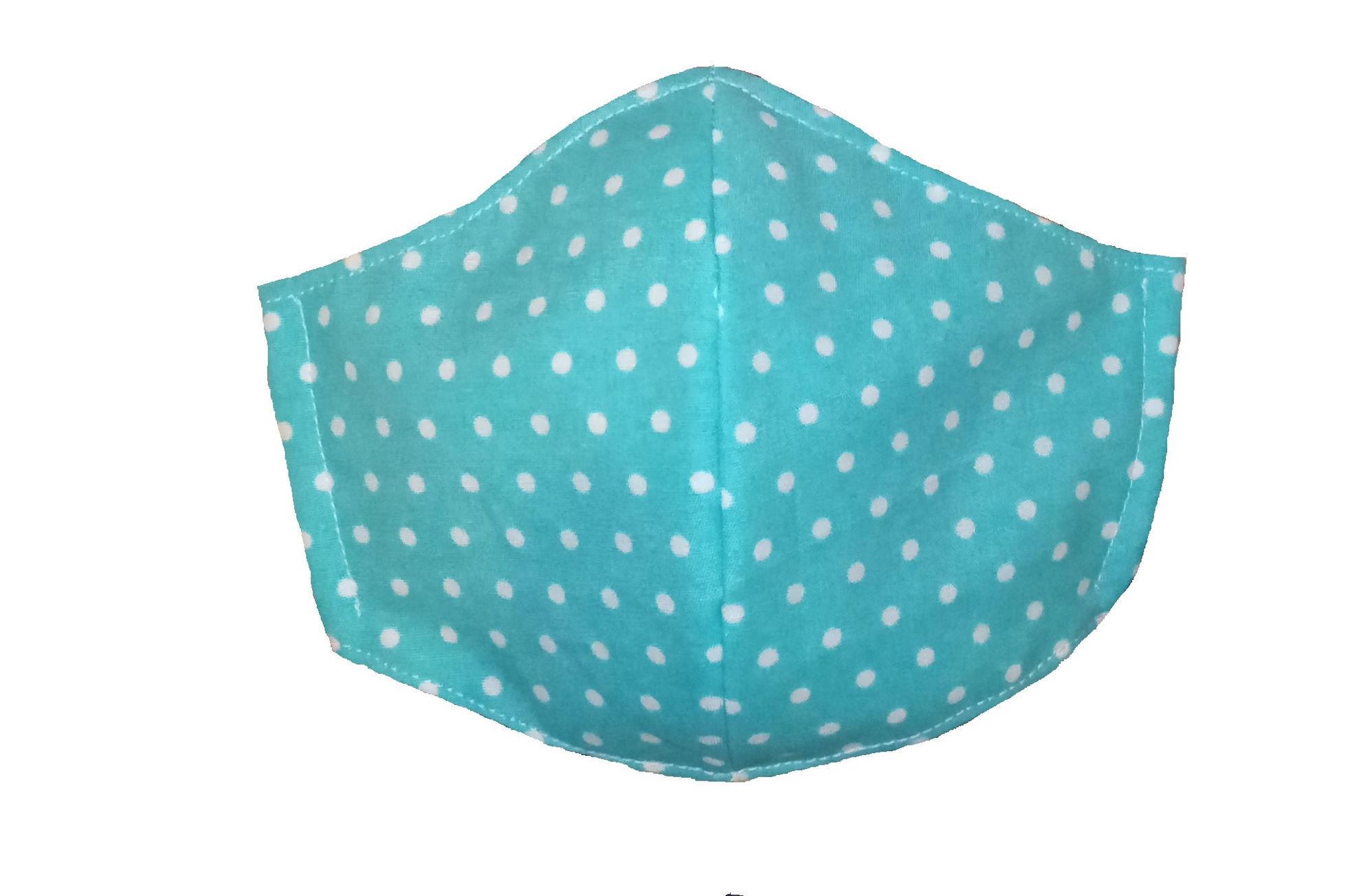 تصویر از ماسک سه لایه پارچه ای