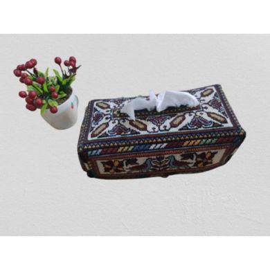 تصویر از جعبه گلیم سنتی دستباف سیرجان