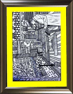 تصویر از تابلو نقاشی دودلینگ (doodling)